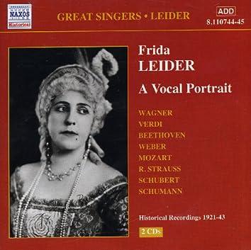 Leider, Frida: A Vocal Portrait (1921-1943)