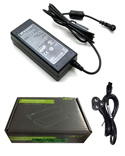 Fugen Power Cable & Acer Genuine Laptop Battery Adapter Charger 65w 19v...