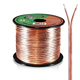 Best Speaker Wires - 50ft 16 Gauge Speaker Wire - Copper Cable Review