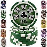 Poker Mania Shop Fiches Royal Flush Valor 25 Blíster 25 uds.