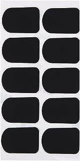 Saxophone Mouthpiece Cushions, Alto/Tenor Saxophone & Clarinet Mouthpiece Cushion Patches Pads Music Instrument(Black)