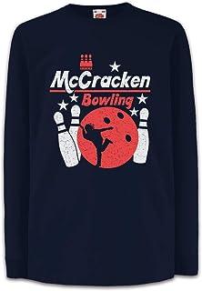 Urban Backwoods Mccracken Bowling Camisetas de Manga Larga T-Shirt para Niños Niñas