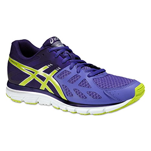 ASICS - Gel-Zaraca 3, Scarpe Da Corsa da donna, 3605-Purple/Lime/Dark Purple, 39.5