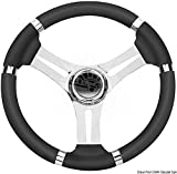 Osculati Volante Corona Nero mm 350 (Steering Wheel Black Wheel 350 mm)