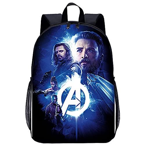 Mochilas escolares para niños Vengadores Infinity War Mochila escolar para niñas, mochila escolar para adolescentes, mochila para mujer, mochila escolar ergonómica para niños, mochilas informales