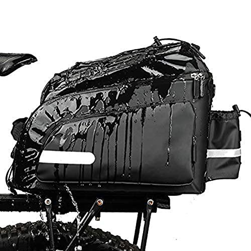 LGQ-LIFE - Borsa per portabici da bicicletta, impermeabile, con copertura antipioggia (colore C)