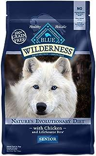 ブルー ウィルダネス ドッグフード 高齢犬用 チキン 2.04kg
