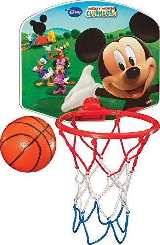 Baloncesto Mini posterior pelota y neumáticos infantil (Disney chraktere, - Mickey Mouse: Amazon.es: Deportes y aire libre