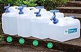 ZHANGZHIPENG Contenitore di Acqua con Rubinetto Household Pulita da Bere Acqua Minerale Secchio itinerante Secchio di plastica for Auto Auto barili Trasporto in cisterne mobili (Size : 10L)