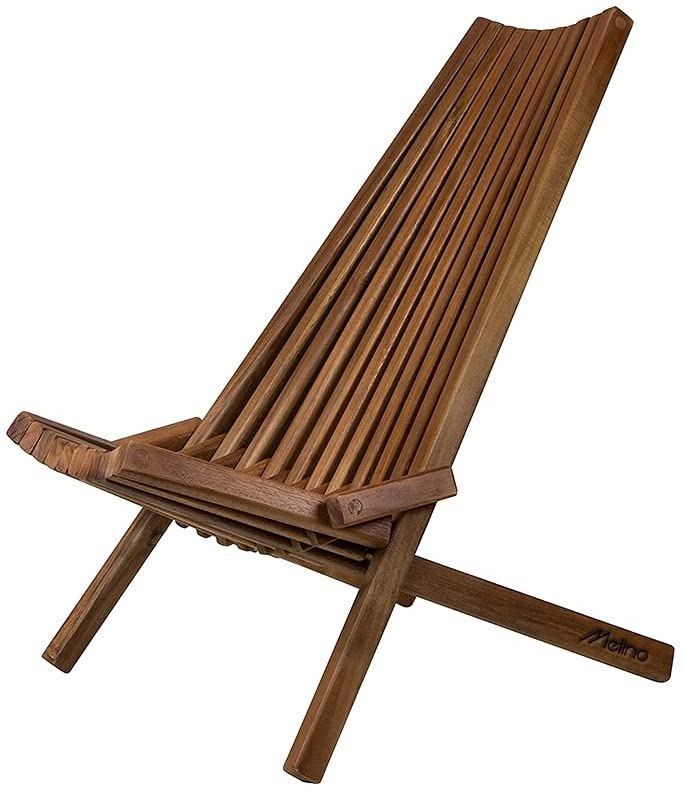 Melino Ranking TOP17 Folding Wooden Outdoor Chair Foldable Low Profile - 2021 new Acaci