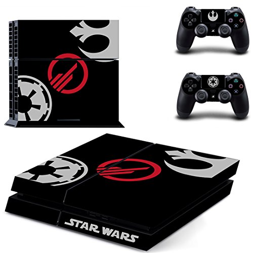 Adventure Games - PS4 ORIGINAL - Star Wars, Battlefront, Limited Edition - Playstation 4 Vinyl Console Skin Decal Sticker + 2 Controller Skins Set