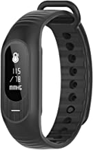 BOZLUN Smart Watch for Men and Women Android and iOS Compatible Waterproof Fitness Tracker with Blood Pressure Heart Rate Sleep Monitor Calories and Step Counter Call Message Reminder (Black)
