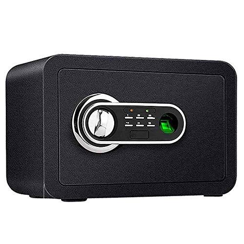 SGSG Caja de Almacenamiento con Alarma antirrobo Segura para Huellas Dactilares Oficina en casa Montado en la Pared Caja de Almacenamiento de Alarma antirrobo a Prueba de inundaciones M