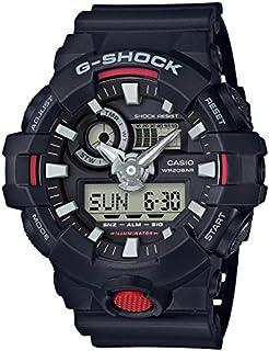 Casio Men's G Shock Quartz Watch with Resin Strap, Black, 25.8 (Model: GA-700-1ACR)