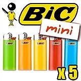BIC Feuerzeug Mini Color X5