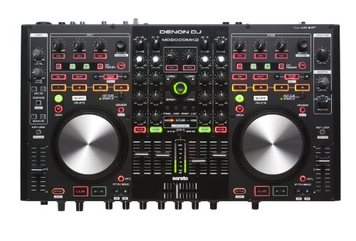 DENON MC 6000 MK2 CONTROLLER/MIXER DIGITALE ALL-IN-ONE 4 DECK CON SERATO DJ