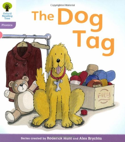 Oxford Reading Tree: Level 1+: Floppy's Phonics: The Dog Tagの詳細を見る