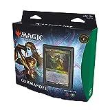 Magic The Gathering Commander Kaldheim: Empire elfe (Carta de 100 Cartas), Color Verde y Negro