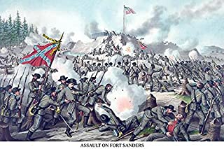 The Battle of Fort Sanders was the decisive engagement of the Knoxville Campaign of the American Civil War fought in Knoxv...