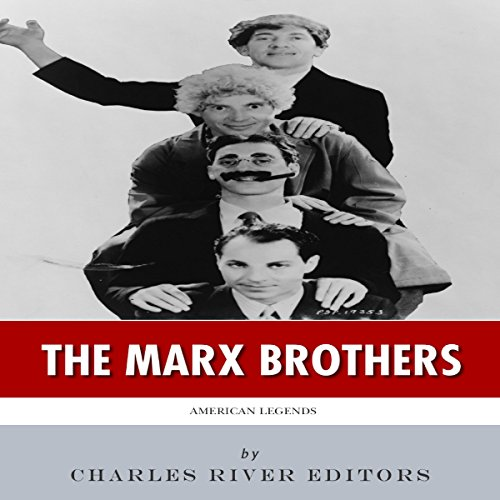 American Legends: The Marx Brothers audiobook cover art