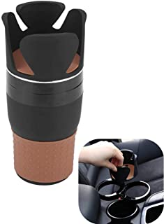 Mary Paxton Adjustable Car Cup Holder,Multi Car Cup Holds Mugs Organizer Cup Holder Rotary Vehicle Cell Phone Holder Little Stuff Storage Auto Storage Box for Sunglass,Keys,Pen,Coins Cards