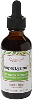 Quantum Health Super Lysine + Immune Support, Liquid Extract Drops - Vitamin Supplement to Boost Immunity, Enhanced Bioava...