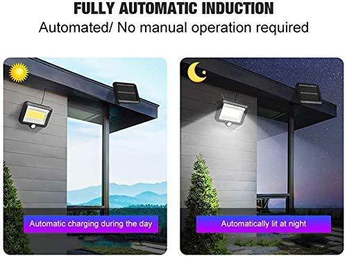 2020 Zonne-Lampen Voor Outdoor Met Motion 100COB Zonne-Energie Wandlamp Nachtlicht Sensor Motion Outdoors Waterproof Garden Safety Light Led Motion,1 Artikel