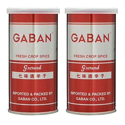 ギャバン 七味唐辛子 100g×2缶