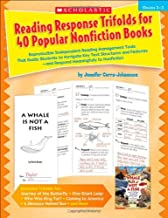 Reading Response Trifolds for 40 Popular Nonfiction Books: Grades 2-3: Reproducible Independent Reading Management Tools That Guide Students to ... Respond Meaningfully to Nonfiction