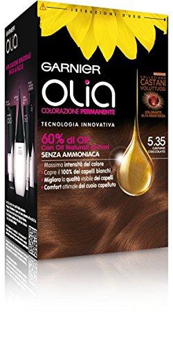 Garnier Olia Colorazione Permanente, 5.35 Castano Cioccolato