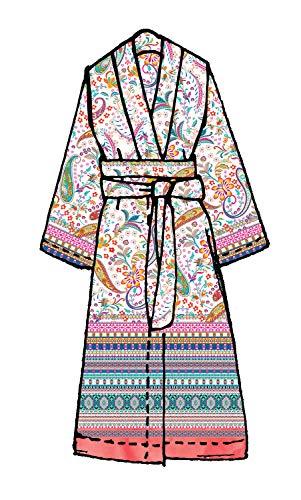 Bassetti Kimono BURANO R1 Rosa, L/XL