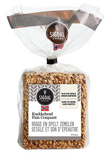Vero pane norvegese SIGdal Seigle e farro