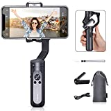 Foladbal Gimbal Stabilizer, 3-<span class='highlight'>Axis</span> <span class='highlight'>Handheld</span> Gimble, for iPhone 11 Pro Max/XS MAX/XR, Android Phones, with Time-Lapse, Face Tracking Tracking(Hohem iSteady X)