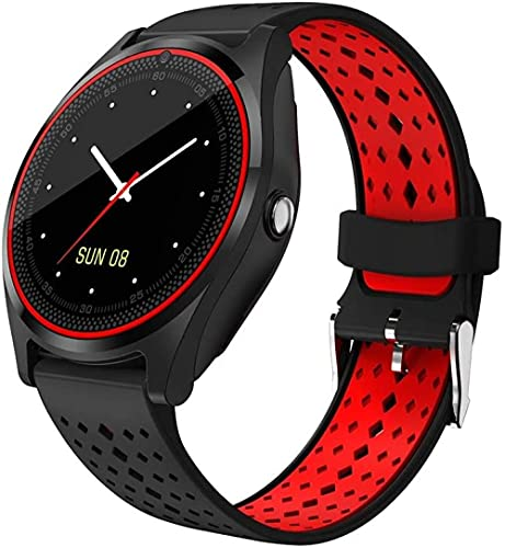 Reloj inteligente de fitness con monitor de sueño, rastreador de actividad de salud, podómetro pulsera para hombres y mujeres-C