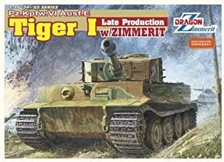Dragon 1/35 Tiger I Late Production w/Zimmerit