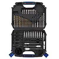 CARTMAN 110pcs Drill and Drive Bit Set