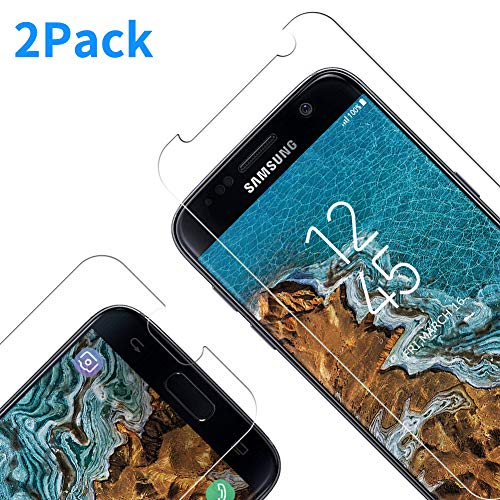 Vkaiy Panzerglas Schutzfolie kompatibel mit Samsung Galaxy S7, 3 Stück, Ultra-Klar Glas 9H Härte 3D Touch Kompatibel Anti-Kratzen, Anti-Öl, Anti-Bläschen für Samsung Galaxy S7
