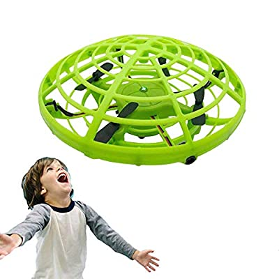 WALLE Mini Drone Toy for Kids Flying Ball for 6 7 8 9 10 Boys Gift(Green)