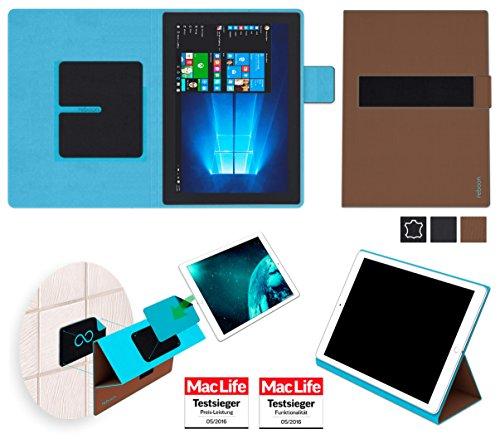 Hülle für Lenovo Miix 720 Tasche Cover Hülle Bumper   in Braun   Testsieger