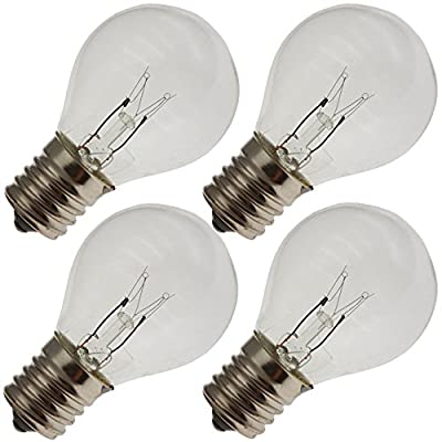 Industrial Performance 10S11N 130V, 10 Watt, S11, Intermediate Screw (E17) Base Light Bulb (4 Bulbs)