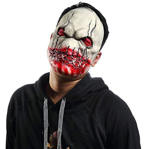 MZQ Halloween Death Zombie Scary Devil Cosplay Horror Bloody Skeleton Látex Máscaras