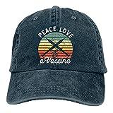 Vaccinated Vaccine Pro Vaccination Hat Adjustable Baseball Cap Unisex Washable Trucker Cap Dad Hat