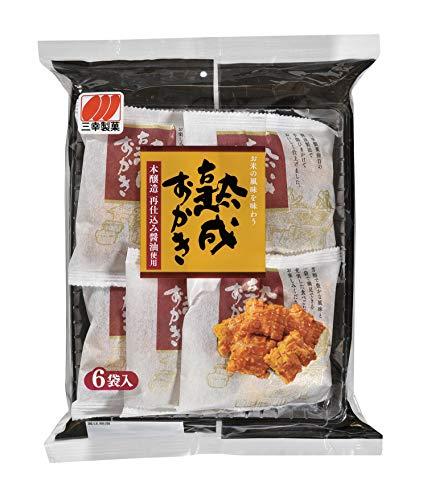 三幸製菓 熟成おかき醤油味 130g ×6袋