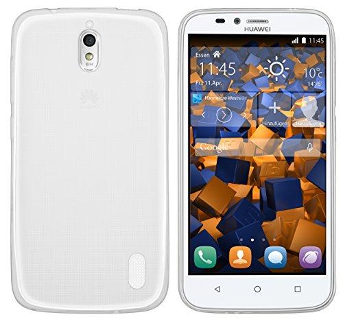 mumbi Hülle kompatibel mit Huawei Y625 Handy Hülle Handyhülle dünn, transparent