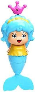 YTHXJP Mermaid Children Bath Toys, High Quality, Colorful, Develop Children's Puzzle ( Color : Blue )