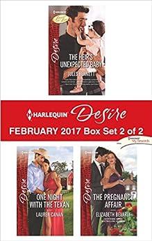 Harlequin Desire February 2017 - Box Set 2 of 2: An Anthology by [Jules Bennett, Lauren Canan, Elizabeth Bevarly]