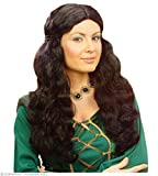 WIDMANN S.R.L. - A MUJER MEDIEVAL WIG NEGRO