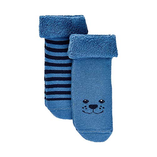 MINYMO Baby-Socken Doppelpack blau 15/18
