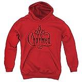 Charmed - Logo para jóvenes Sudadera con capucha, Medium, Red