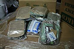 Case / 14 SOPAKCO MRE Emergency Ration Meals Ready to Eat